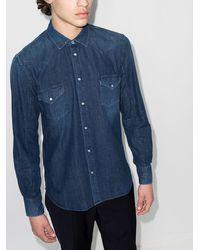 Jacob Cohen ボタン シャツ - ブルー