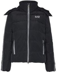 EA7 パデッド ジャケット - ブラック