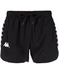 Kappa Logo Swim Shorts - Black