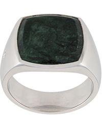 Tom Wood Tweekleurige Ring - Metallic