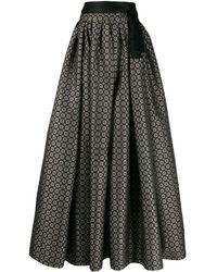 Etro パターン スカート - グレー