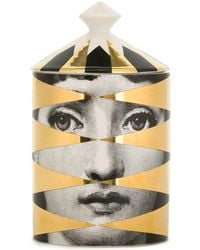 Fornasetti Losanghe Gold Scented Candle (300g) - Multicolour