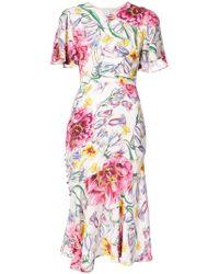 Prabal Gurung - Floral dress - Lyst