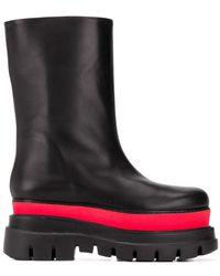 MSGM パネル ブーツ - ブラック