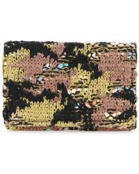 Coohem - Knit Tweed Camouflage Card-case - Lyst