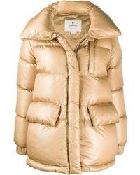 Woolrich オーバーサイズ パデッドジャケット - ナチュラル