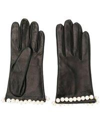 Manokhi - Pearl Embellished Gloves - Lyst
