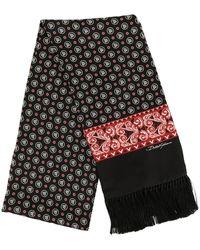 Dolce & Gabbana - モノグラム スカーフ - Lyst