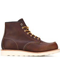 Red Wing レースアップブーツ - ブラウン
