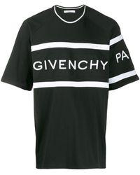 Givenchy Oversized Logo-print T-shirt - Black