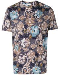 Etro - T-shirt à fleurs - Lyst