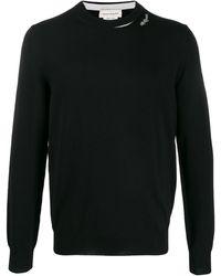 Alexander McQueen - ロゴパッチ セーター - Lyst