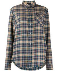 R13 - チェックシャツ - Lyst