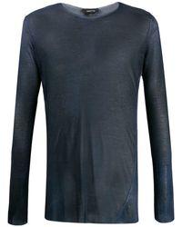 Avant Toi - ファインニット Tシャツ - Lyst