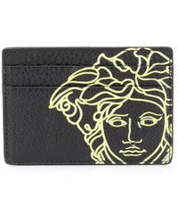 Versace ブラック Pop Medusa カード ケース
