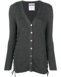 Moschino - Side Lace Cardigan - Lyst