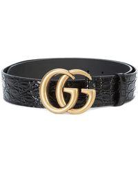Gucci - Double G Buckle Belt - Lyst