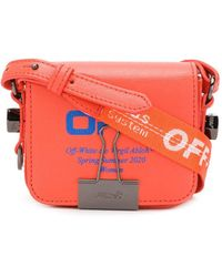 Off-White c/o Virgil Abloh Borsa tote Baby Flap - Rosso