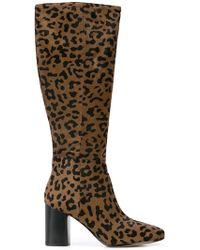 Diane von Furstenberg - Reese Leopard Boots - Lyst
