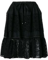 Fendi - Flora Cut Out Skirt - Lyst