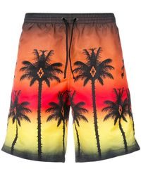 Marcelo Burlon - Palms Shorts - Lyst