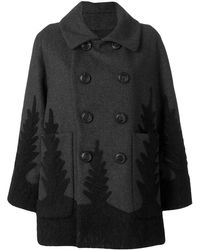 DSquared² Double-breasted Coat - Gray