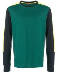 PS by Paul Smith - Colour Block Panel Top - Lyst