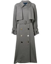 Golden Goose Deluxe Brand - Double-breasted Trench Coat - Lyst