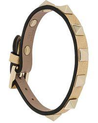 Valentino Valentino Garavani Rockstud Bracelet - Metallic