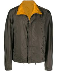 Prada Двусторонняя Куртка - Зеленый