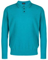 Roberto Collina - Teddy Polo Shirt - Lyst