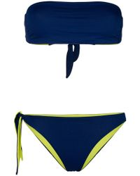 Tara Matthews - Cupabia Reversible Bikini Set - Lyst