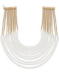 Rosantica - Raissa Multistrand Necklace - Lyst