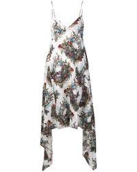 John Richmond - Skull Print Dress - Lyst