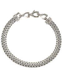 John Hardy Petit bracelet Classic Chain - Métallisé