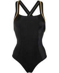 Lygia & Nanny Maracatu Metallic Swimsuit - Black