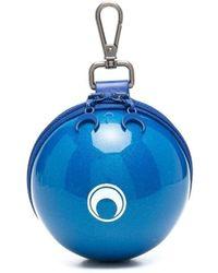 Marine Serre Dream Ball 財布 - ブルー