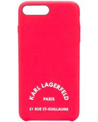 Karl Lagerfeld K/athleisure Iphone 8+ Case - Red