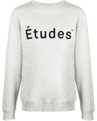 Etudes Studio Толстовка Story С Логотипом - Серый