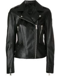 Belstaff - Marving T Leather Biker Jacket - Lyst