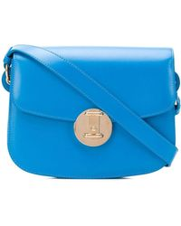 CALVIN KLEIN 205W39NYC Borsa a spalla Accordion - Blu
