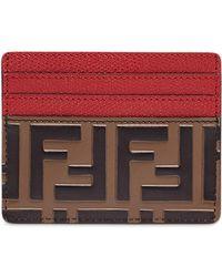 Fendi - Ff Logo Cardholder - Lyst