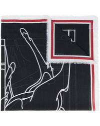 Givenchy - Bambi Print Scarf - Lyst