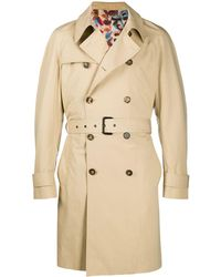 Missoni Belted trench coat - Natur