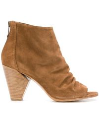 Strategia - Open Toe Boots - Lyst