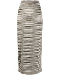 Missoni - Jupe mi-longue à imprimé abstrait - Lyst