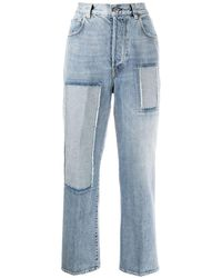 Golden Goose Deluxe Brand Kim パネル ストレートジーンズ - ブルー