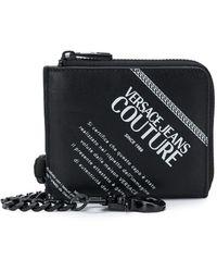 Versace Jeans Couture Кошелек С Логотипом - Черный