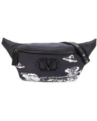 Valentino Sac banane Time Traveller x Undercover - Gris