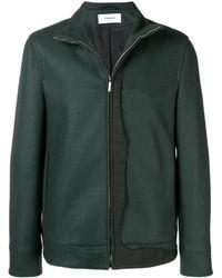 Chalayan High neck bomber jacket - Vert